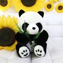 70 cm grande urso de pelúcia Eatting folhas de bambu Panda menino bonito menina empurrão suave Fuzz Panda Animal de pelúcia boneca brinquedos para crianças(China (Mainland))