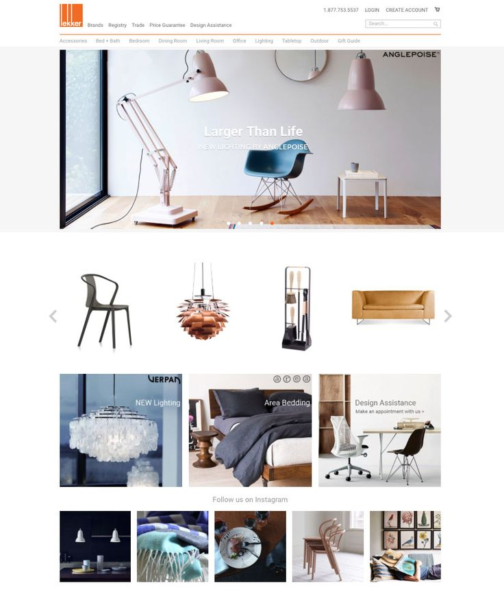 Lekke Home It Has A Fantastic Selection Of Classic Design Icons From Top Brands As