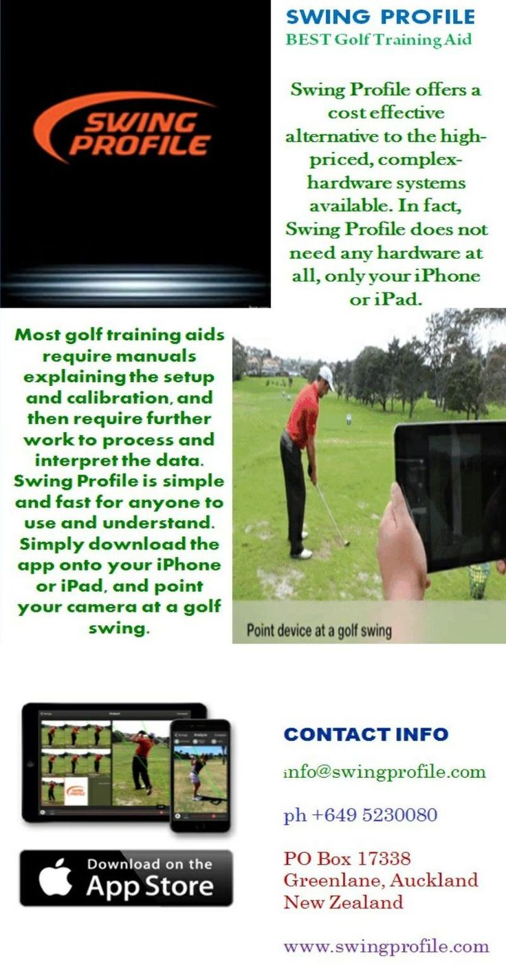 For quick and professional coaching, golf training aid of Swing Profile is the most recommended tool to try. This Smartphone app lets you improve your golf swings faster and better. You can expect the same level of coaching as you can get from an expert golf trainer in a more convenient way.   Visit Now : http://www.swingprofile.com/golf-training-aids