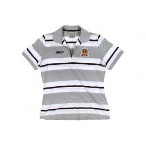 Wigan Warriors Ladies Polo Shirt – Size 12: Wigan Warriors Ladies Polo Shirt Women's Size 12 Colour – White / Silver /… #WrekinSportswear