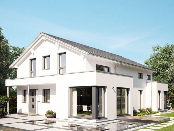 Die 25 besten ideen zu zweifamilienhaus auf pinterest for Fertighaus zweifamilienhaus