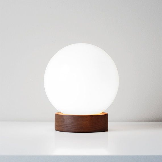 modern glass sphere lamp