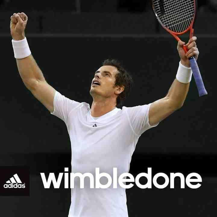 Andy Murray @wimbledone!