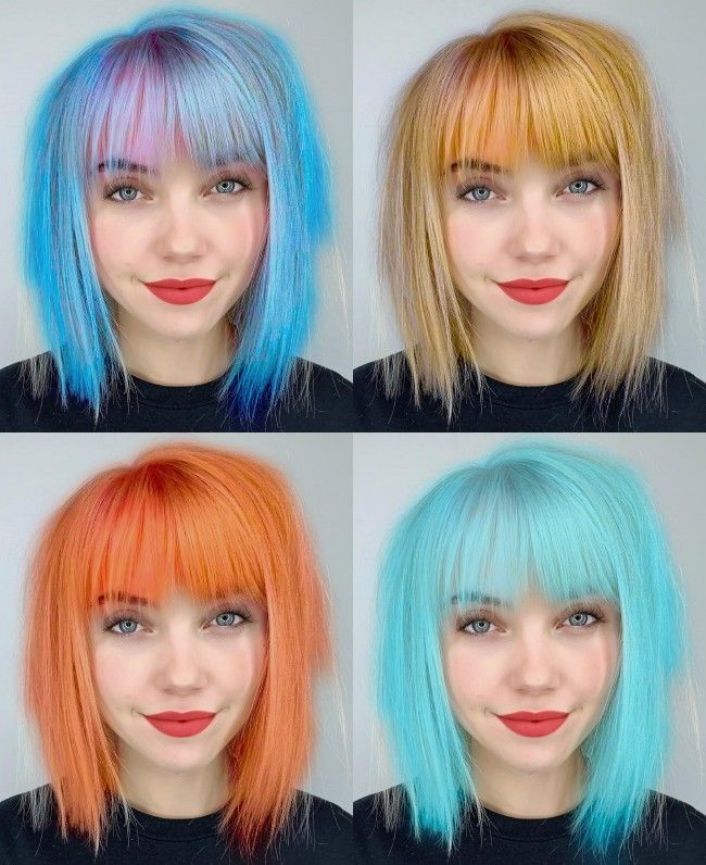 Hair Color Changer Compare Up To 9 Hair Colors At Once Hair Color Changer Hair Styles Hair Beauty