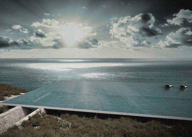 design-dautore.com: Mirage House, la casa col tetto d'acqua