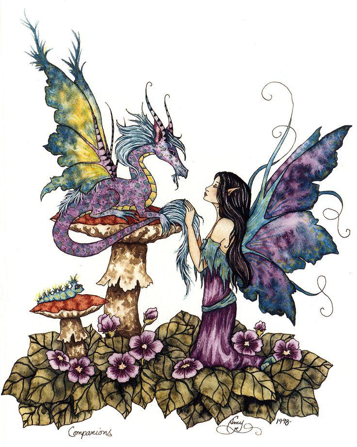 Волшебница настя и дракон картинки