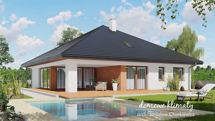 Проект дома Antares 2T, wizualizacja 2