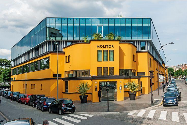 Hôtel Restaurant Molitor - PARIS (75) Architecte : Alain DERBESSE Architectes (75) Entreprise : Sodearif (78) Photographe : Bruno Barjhoux Solutions WICONA utilisées : Façades WICTEC 50 SG Droits Réservés WICONA