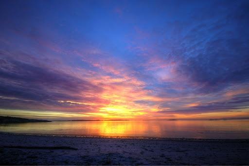 Willow's Beach sunset