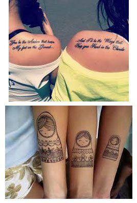 Tatuaje-para-hermanas-en-el-brazo-o-hombro.jpg (268×396)