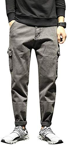 Enjoy Exclusive For Zxllz Men S Leisure Loose Overalls Thin