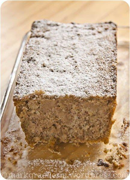 Chestnut Loaf Cake | #glutenfree #grainfree #HildegardvonBingen