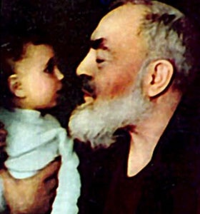 """Padre Pio: A Patron Saint for the Unborn     The Blessed Mother said to him: """"I am entrusting this unborn child to your care and protection."""""""
