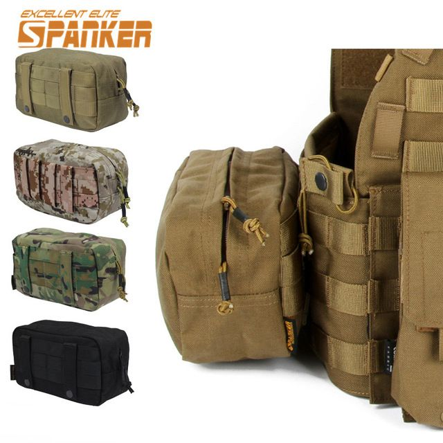 We love it and we know you also love it as well SPANKER Tactical 1000D Molle Utility EDC Drop Pouch Airsoft Hunting Molle Vest Bag Pouch Emergency First Aid Bag Accessory Pouch just only $13.65 - 13.66 with free shipping worldwide  #sportsbags Plese click on picture to see our special price for you