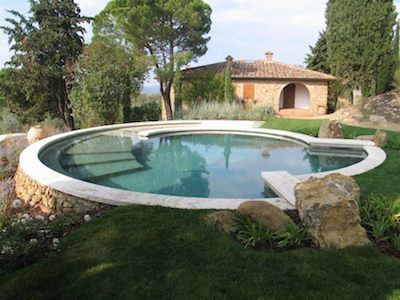 17 mejores ideas sobre piscina redonda en pinterest for Piscina jardin 727