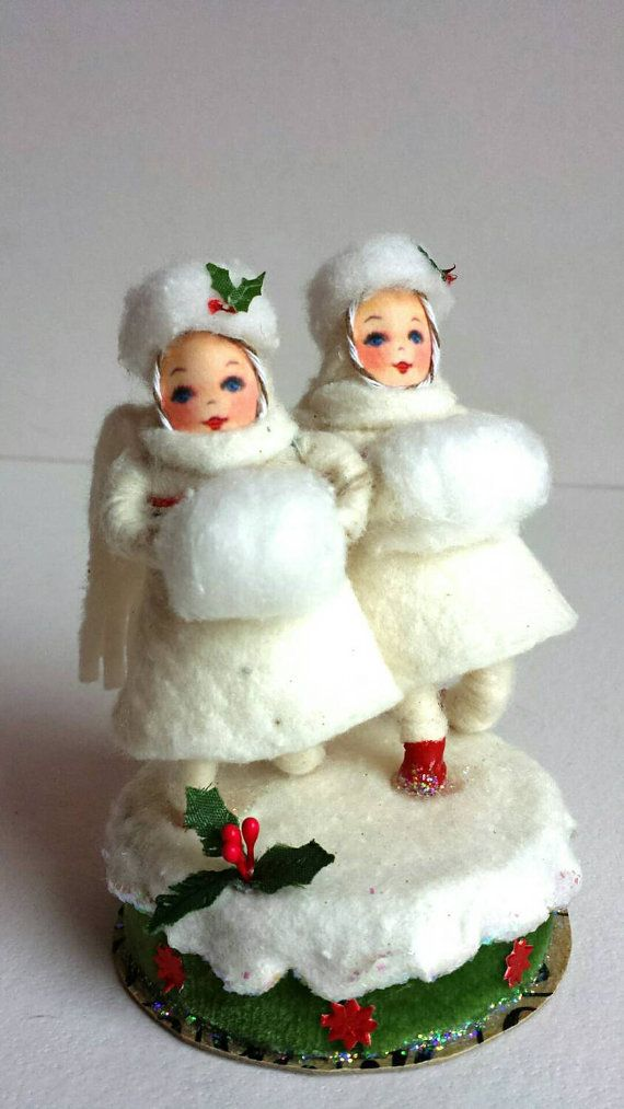 Snow Stroll in Spun Cotton by AquaMarineQueen on Etsy