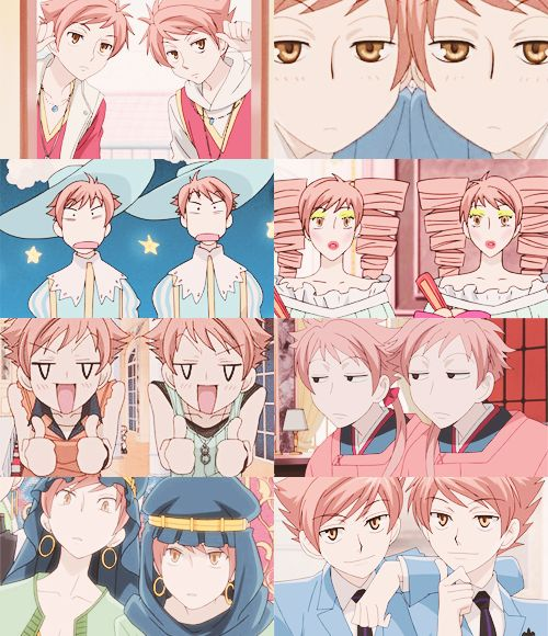 Gotta love the twins, Ouran highschool host club. THEYRE HALARIOUS