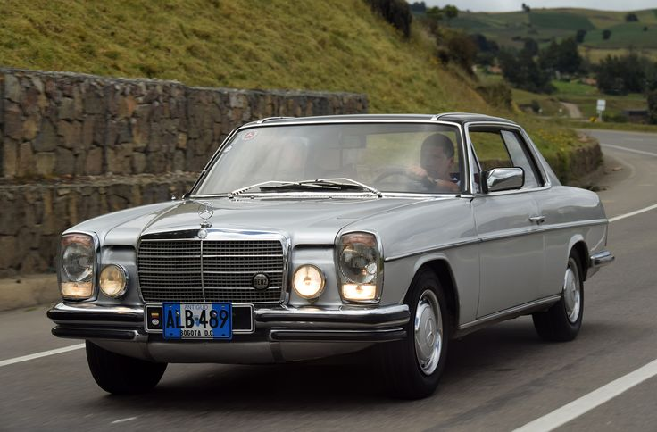 176 best images about mercedes benz w 114 8 coupe e class for Mercedes benz colombia