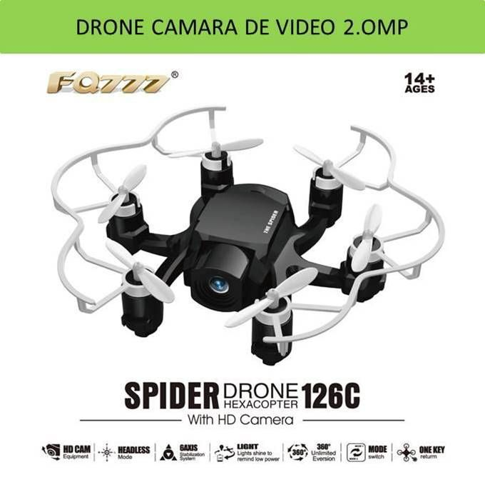 Drones camara de video no tripulados teledirigidos por radiocontrol RC en tienda de aeromodelismo y juguetes Yougametronica.