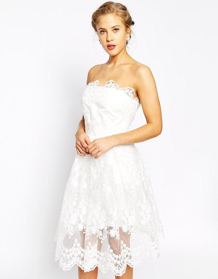 True Decadence Allover Lace Full Skater Dress