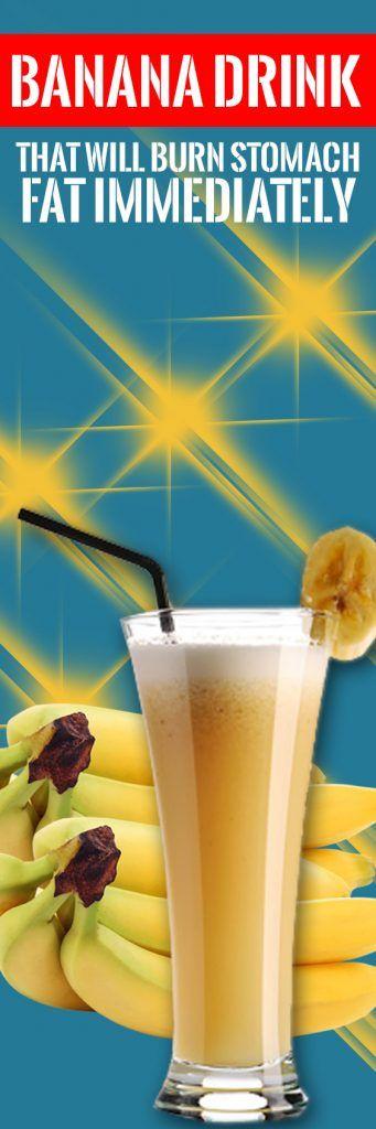 Banana pitie vypáliť bruško tuk rýchlo [Recipe]
