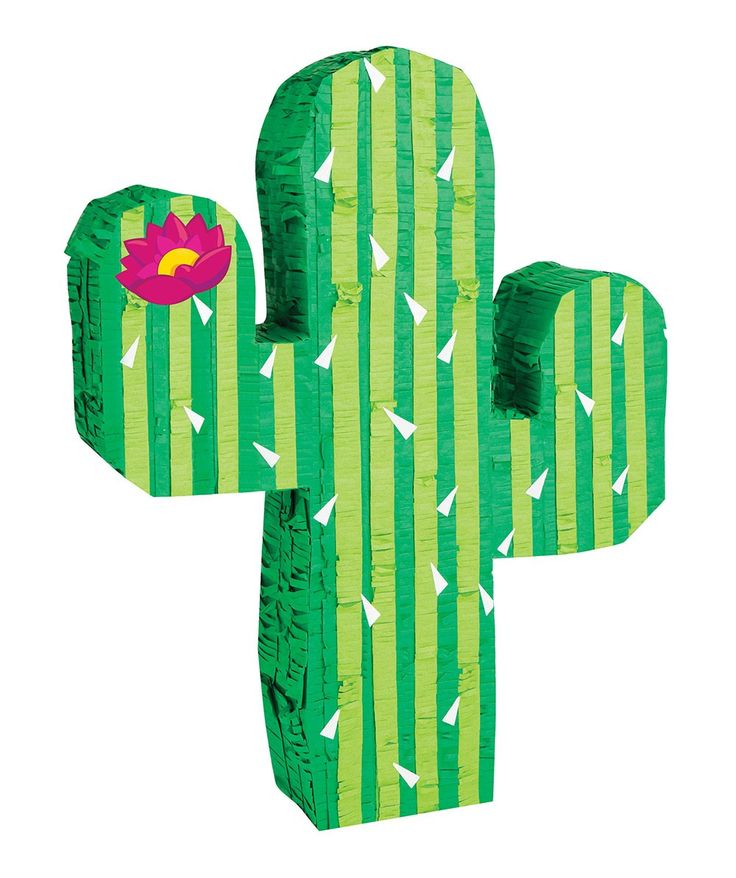 Crush the Cactus! Fill the Cactus Pinata with party treats and go wild. This DIY pinata means you get to choose what goodies await your party guests. | huntingforgeorge.com