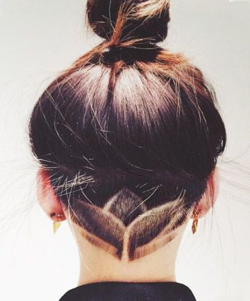 Hidden Undercut - Nails, Toenails, Hair, Tattoo art, Trends!