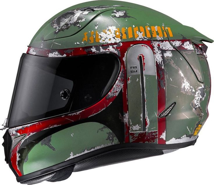 Helmet maker HJC offers this fantastic X-Wing fighter pilot's lid. I prefer to ride with a full face helmet, but this one is pretty hard to resist! DOT approved and complete with an orange su…
