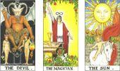 Cartas do Destino: Combinações das Cartas de Tarot - II