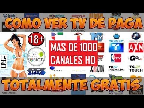 LA APLICACION QUE LAS OPERADORAS DE TV NO QUIERE QUE CONOZCAS  CANALES FULL HD  MILES DE CANALES - YouTube