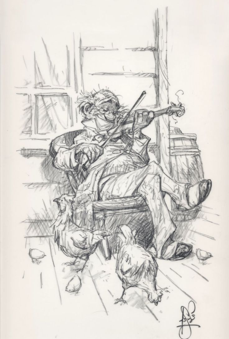 Peter de Seve, an excellent, decisive draftsman who draws with great character and imagination.