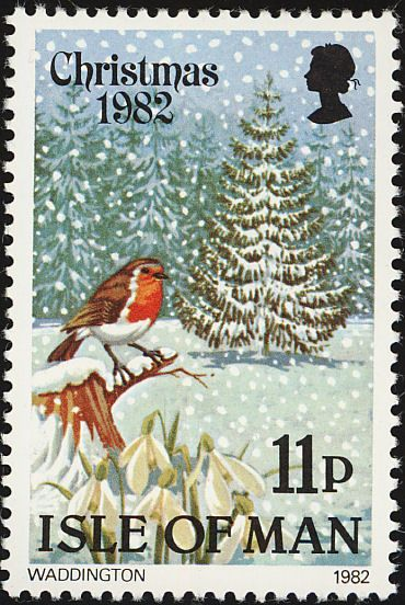 Birds on stamps: Isle of Man