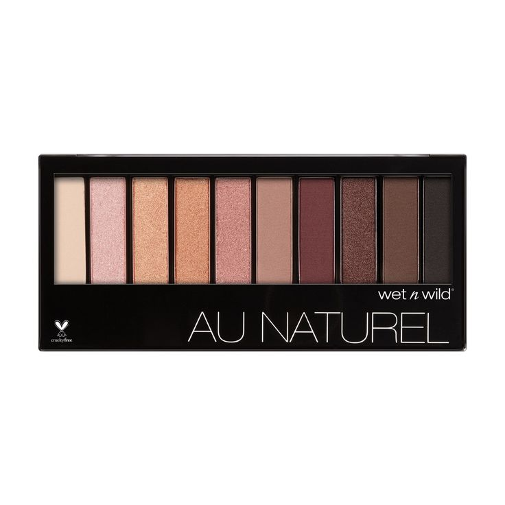 Wet n' Wild Au Naturel 10-Pan Eyeshadow Palett ($7) It's true: You can find an eye palette with high color-payoff without digging deep into your pockets. Case in point: This new palette from Wet n' Wild that acts as a stand-in Naked Palette when you're on a budget (without sacrificing quality).