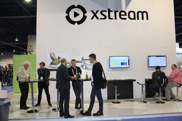 #Xstream booth at #NABshow 2013
