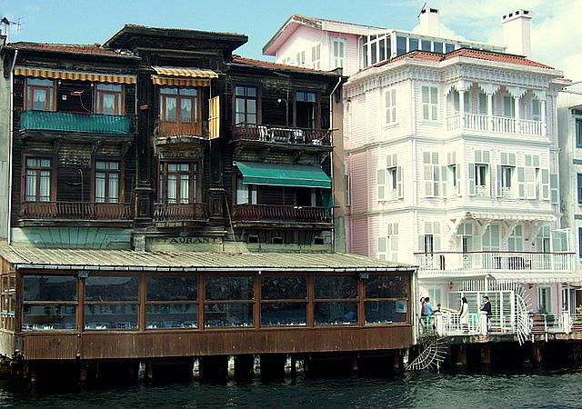 Along the Bosphorus - Istanbul, Turkey