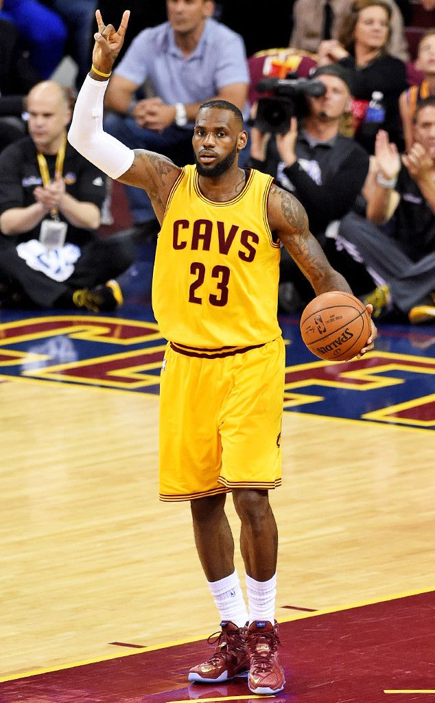 Penis LeBron James NBA FInals baskebtall ABC