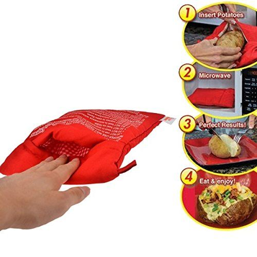 evaluate Potato Cooking Bag Microwave Baked Potato Cooker Perfect Oven Baked Potatoes In Just 4 Minutes Useful Cooking Tool Best Microwave not only practical and economical it39s stylish too Available with a variety of today39s most popular features this handy microwave is well suited for the...