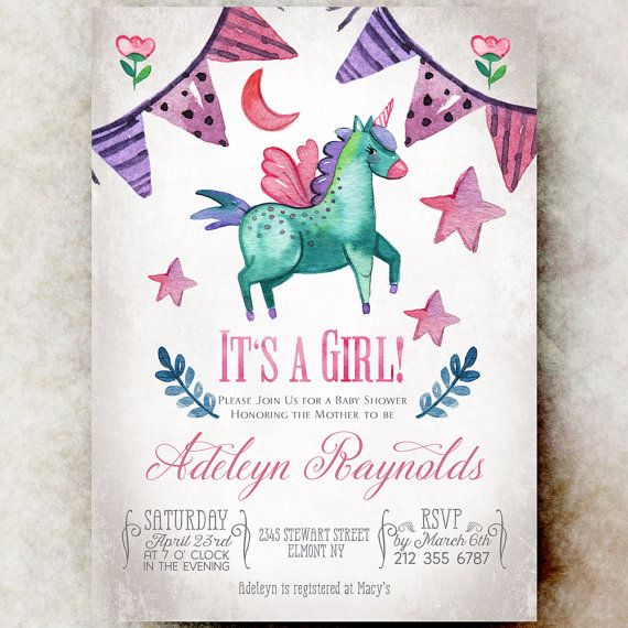 Baby Shower Unicorn ~ Best images about baby shower invitation for boys or