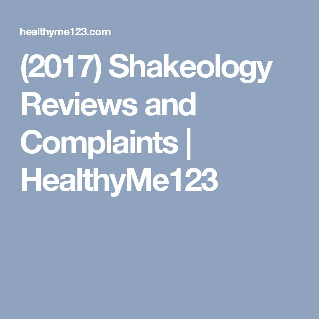 (2017) Shakeology Reviews and Complaints | HealthyMe123