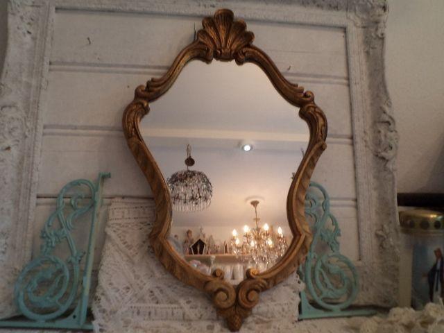 Mooie oude barok spiegels bij deblauweblaker.nl