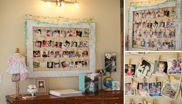 photo display ideas grad party