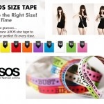 Free ASOS Size tape for your Body Attire Measurements