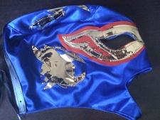 Blue / Gold KIDS Mask lucha libre wwe lucha libre Halloween NEW Costume on eBay!