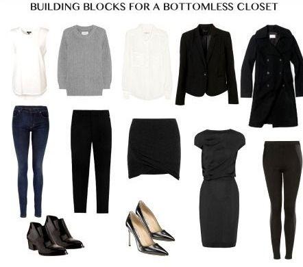 MINIMAL + CLASSIC: building blocks for bottomless closet