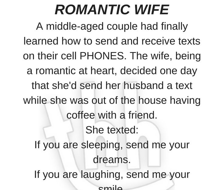 funny romantic wife, husband wife funny jokes, wife funny