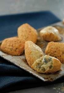 Recette Madeleines au bleu d'Auvergne, notre recette Madeleines au bleu d'Auvergne - aufeminin.com