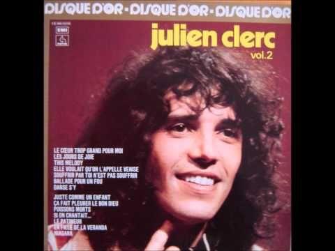 Julien Clerc - Le patineur - YouTube