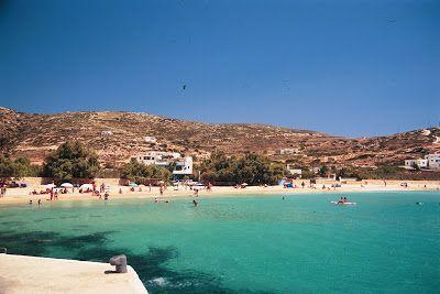 Donousa's port_Το λιμάνι της Δονούσας
