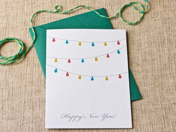 Happy New Year Card Handmade for Kids