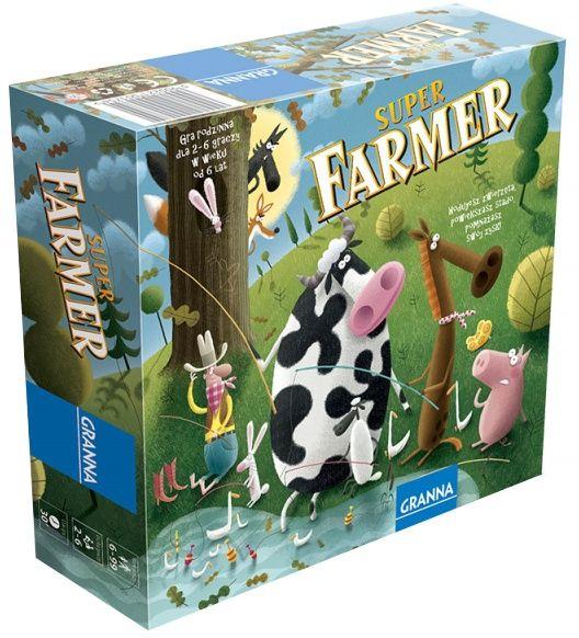 Super Farmer z Rancha (2013) 17+4zł lub 42,50+9zł, 2-6 osób od 6 r. ż., przewidywanie i podstawy ekonomii/matematyki